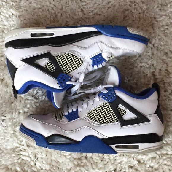 58a115f1fe7 Jordan Shoes | Air 4 Retro Motorsport 308497117 85 Royal | Poshmark